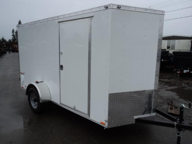 2018 Cargo Mate E-series 6x10 w/Rear Ramp Door Enclosed Cargo Trailer