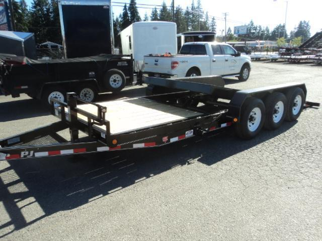 2018 PJ Trailers 7X22 21K Channel Equipment Tilt Trailer