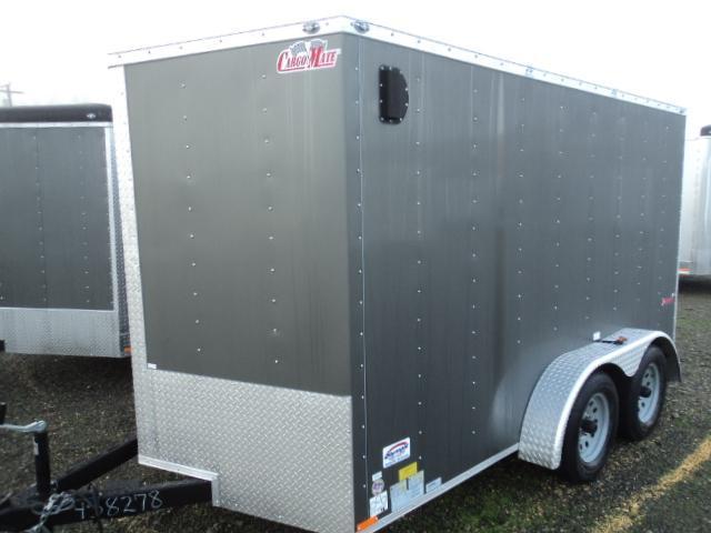 2017 Cargo Mate 7X12 7K Enclosed Cargo Trailer