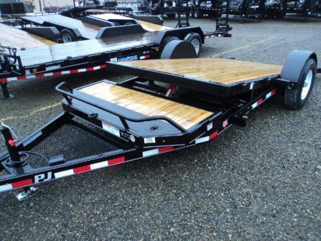 2018 PJ Trailers 16' 7K Single Axle HD Tilt Trailer