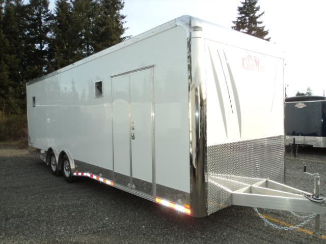 2017 Cargo Mate ELA8.528TA4 Car / Racing Trailer