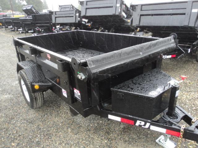2017 PJ Trailers 5X8 Utility Dump Trailer W/Tarp Kit