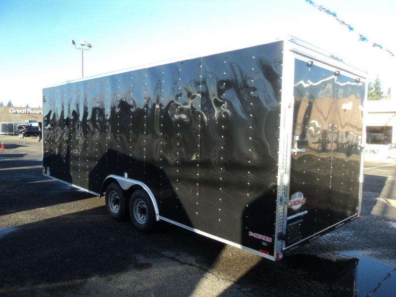 "2018 Cargo Mate E-series 8.5x24 10K 6"" Extra Height Enclosed Cargo Trailer"