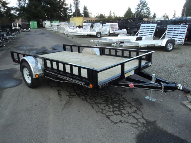 2016 PJ Trailers 6.5x12 Channel Utility Trailer