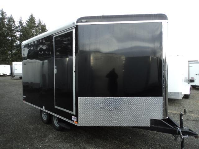 2018 Cargo Mate 8.5X16 7K Enclosed Snowmobile Trailer