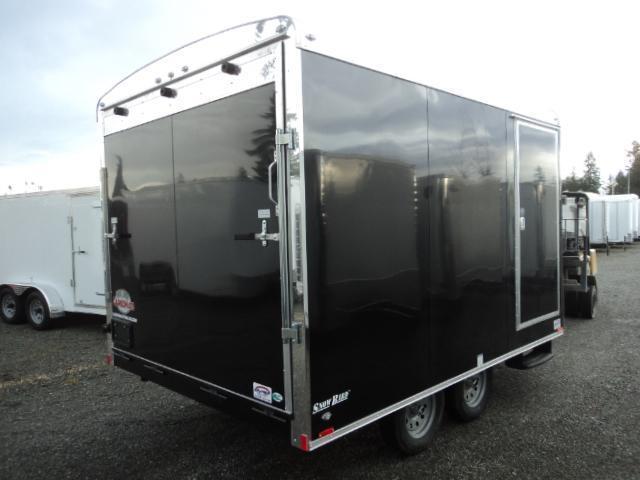 2017 Cargo Mate 8.5X16 7K Enclosed Snowmobile Trailer