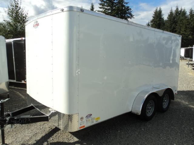 "2018 Cargo Mate Challenger 7X14 7K W/Rear Ramp Door and 6"" Extra Height"