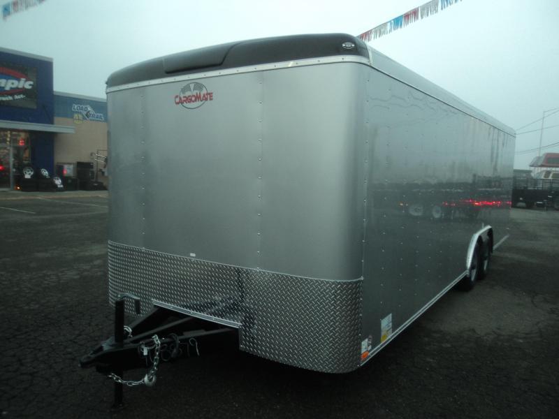2018 Cargo Mate Blazer 8.5x24 10K w/5K Tie Downs