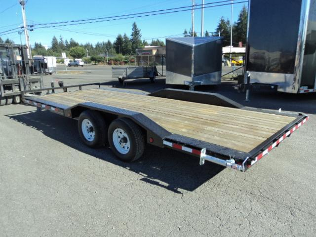 "2018 PJ Trailers 18' x 5"" Channel Buggy Hauler Trailer"