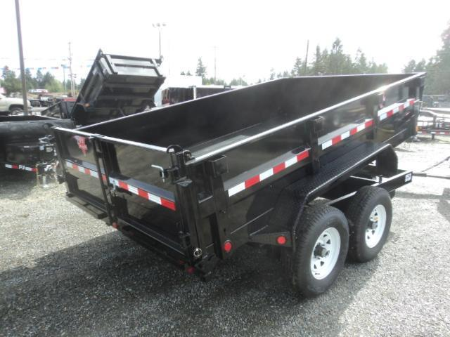 2018 PJ Trailers 7X12 10K Tandem Axle Dump Trailer