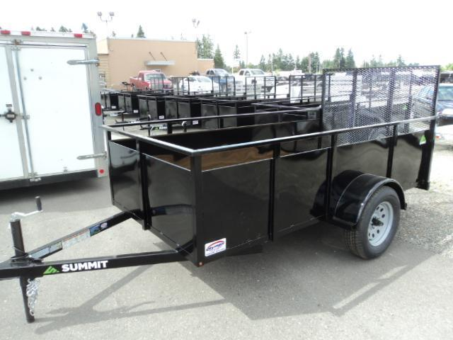 2017 Summit Alpine 5x10 Single Axle Utility Trailer