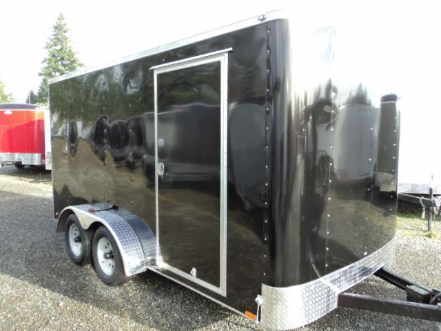2018 Cargo Mate Challenger 7x16 7K w/rear ramp door Enclosed Cargo Trailer