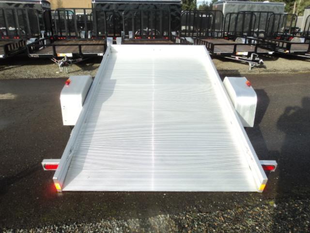 2017 Aluma 6810T Tilt Bed Utility Trailer
