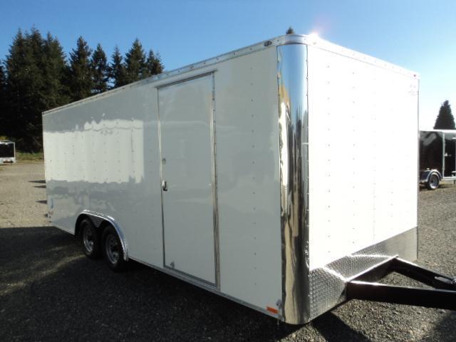 2017 Cargo Mate E-SERIES 8.5X20 7k w/Rear Ramp door Enclosed Cargo Trailer