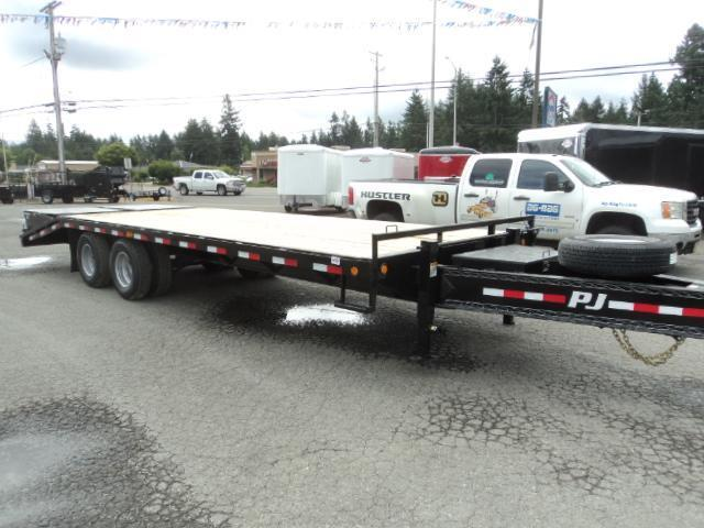 2018 PJ Trailers 25' Classic Pintle with Duals Trailer