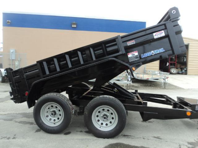 "2018 Load Trail 5X10 7K w/18"" Sides/Tarp Kit/Spare Tire/Mount/Ramps"