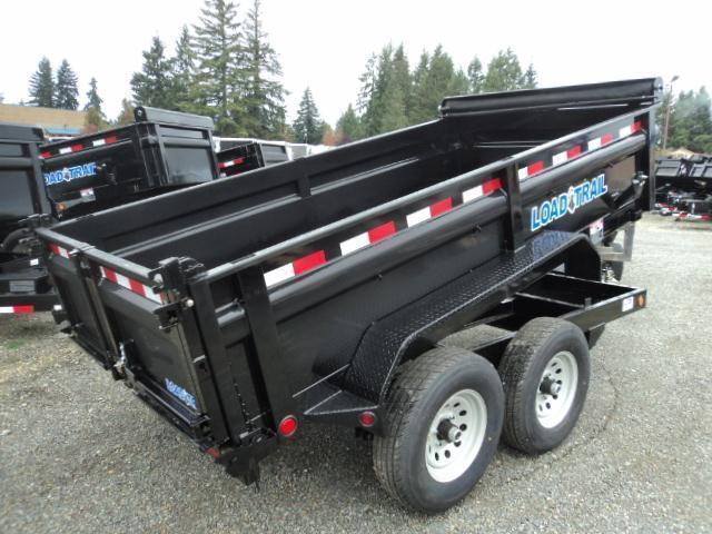 "2018 Load Trail 6X12 10K w/Tarp Kit/24"" sides/Ramps"