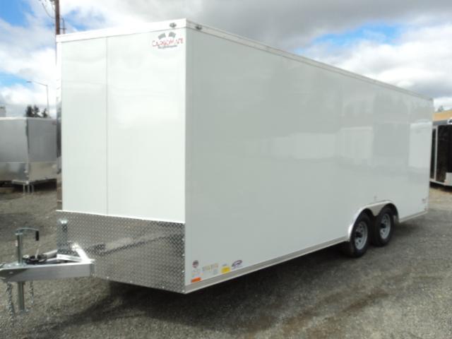 2017 Cargo Mate Aluminum E-Series 8.5x20 TA2 Enclosed Cargo Trailer