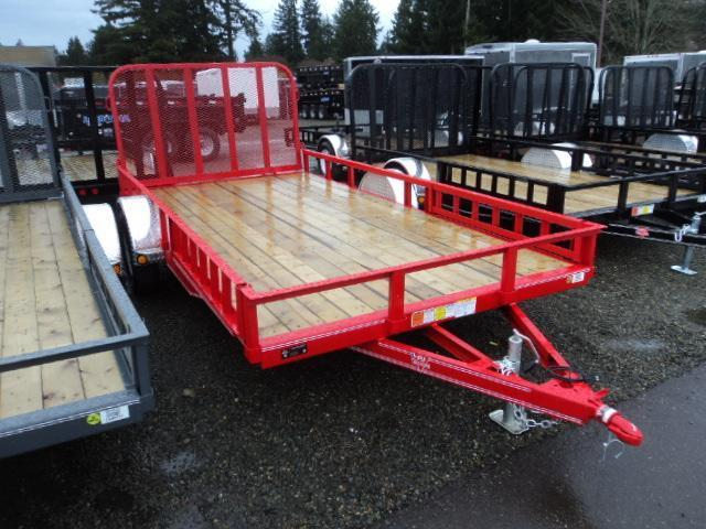 2016 PJ Trailers 7X14 Channel Utility Trailer