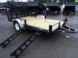 2017 PJ Trailers 6.5X12 Channel Utility Trailer