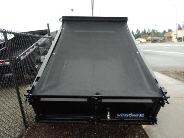 2018 Load Trail 5X8 5K w/Tarp kIt Single Axle Dump