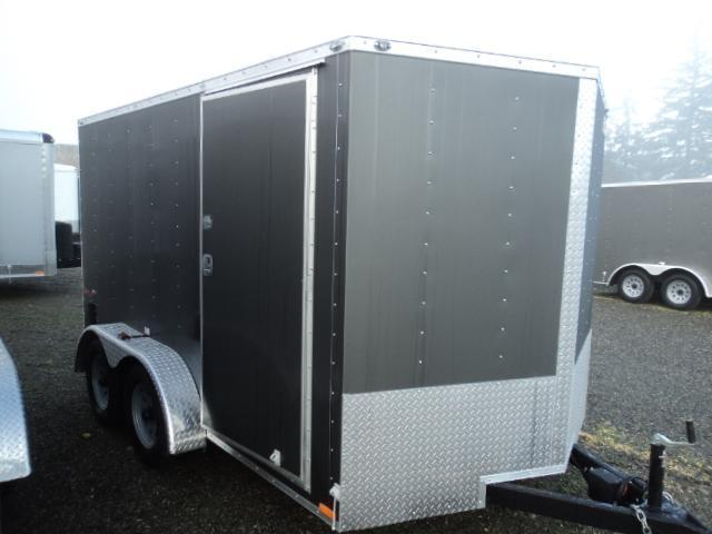 2018 Cargo Mate 7X12 7K w/Rear Ramp Door Enclosed Cargo Trailer