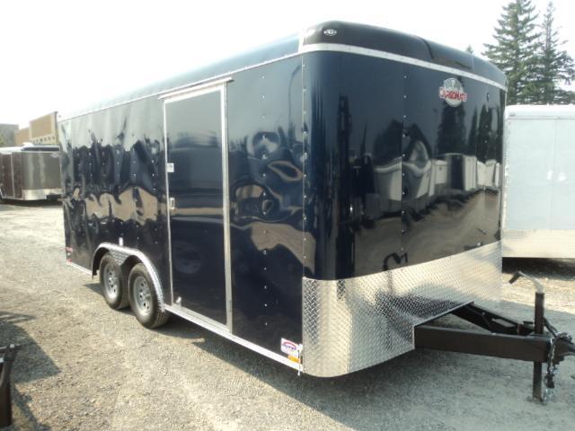2018 Cargo Mate Blazer 8.5x16 W/ Rear Ramp Door