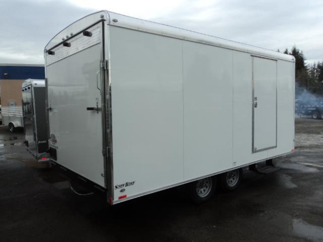2017 Cargo Mate SB8520TA2 Snowmobile Trailer