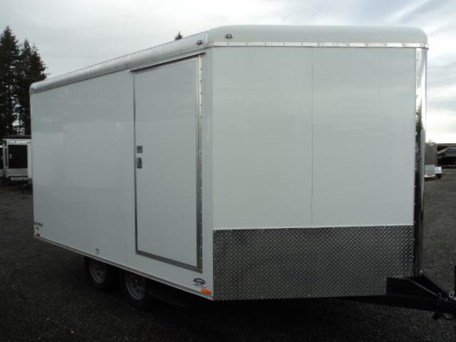 2017 Cargo Mate SB8520TA2 Snowmobile Trailer