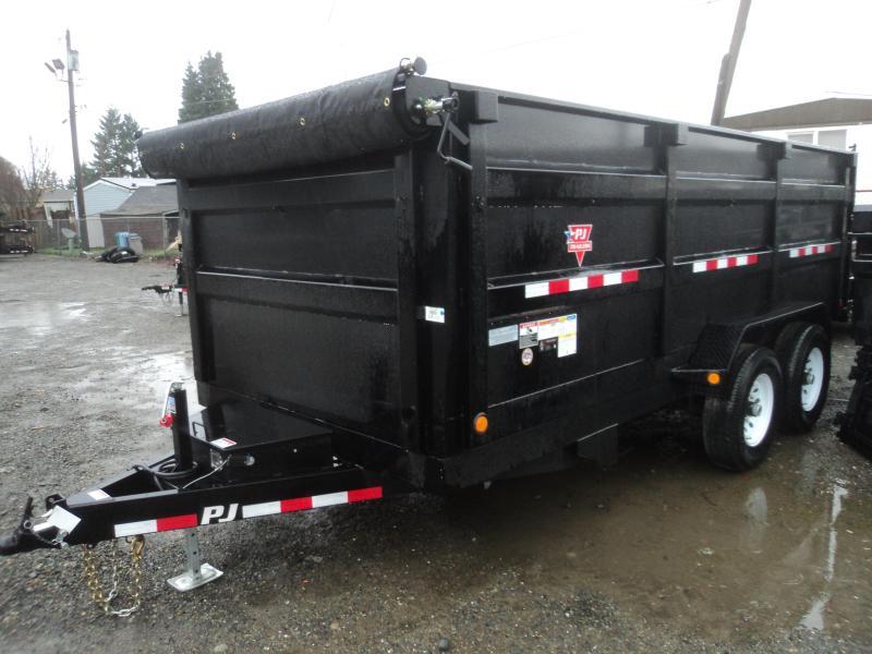 2018 PJ Trailer 7X16 14K XL High Side Dump