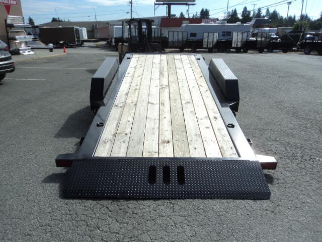 2017 Load Trail 7X20 14K Tilt N Go I-Beam Frame Tilt Deck