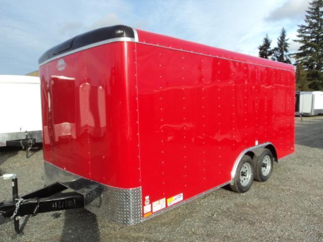 2017 Cargo Mate Blazer 8.5x16 W/rear ramp door