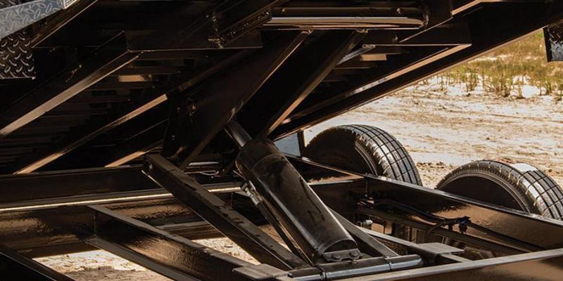 """2018 Load Trail 5x10 7K W/24"""" King Size Sides Tandem Axle Dump"""