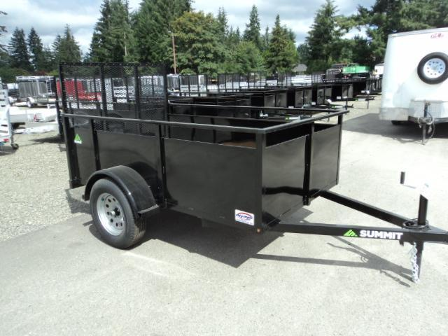 2018 Summit Alpine 5X8 Single Axle Utility Trailer