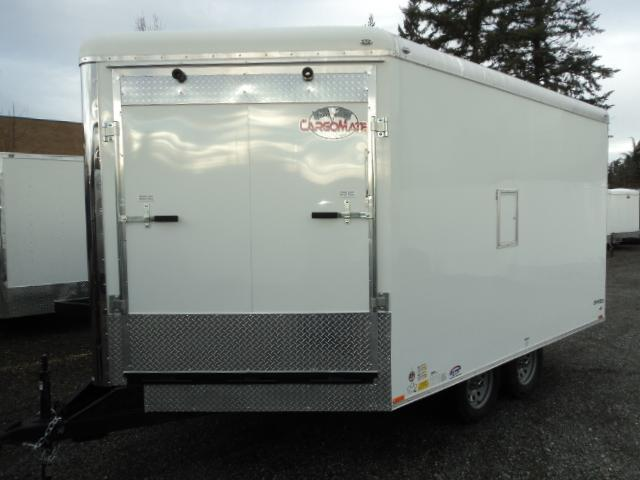 2018 Cargo Mate 8.5x16 7K Snowmobile Enclosed Trailer