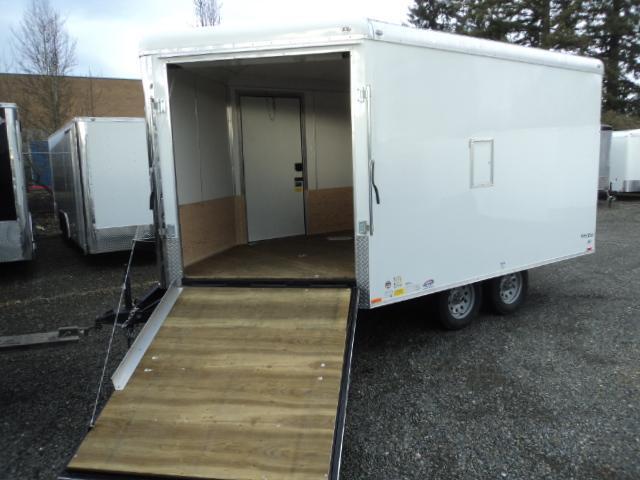 2018 Cargo Mate 8.5x16 7K Snowmobile Enclosed Trailer