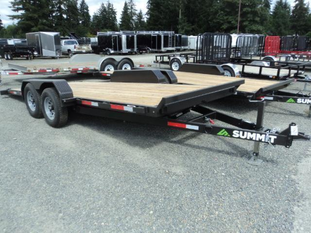 2017 Summit Denali Pro 7x18 10K TILT Car / Racing Trailer