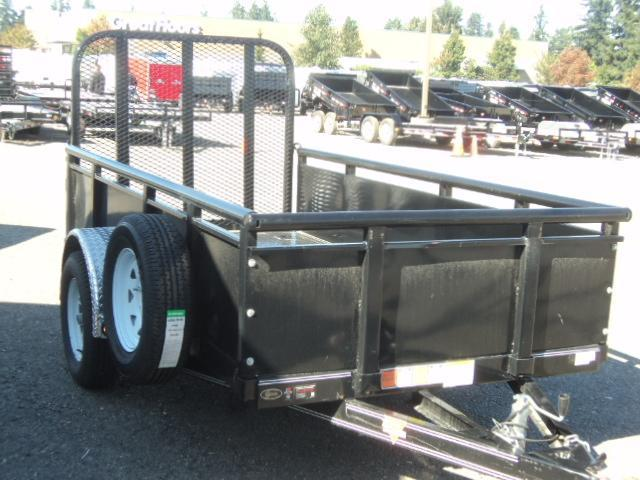 2016 PJ Trailers 5X10 Channel Utility Trailer