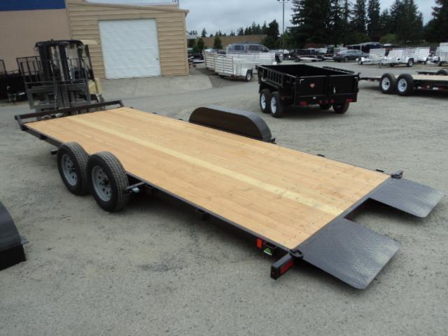 2017 Summit Cascade 7x18 7K Tilt w/Removable Fenders Car / Racing Trailer