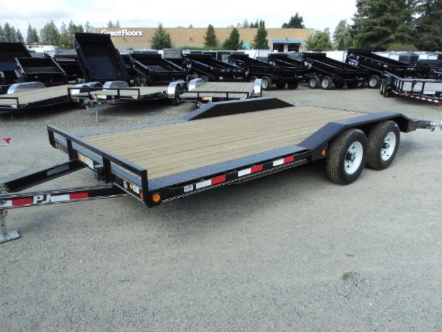2018 PJ Trailers 7X20 Channel Buggy Hauler Trailer