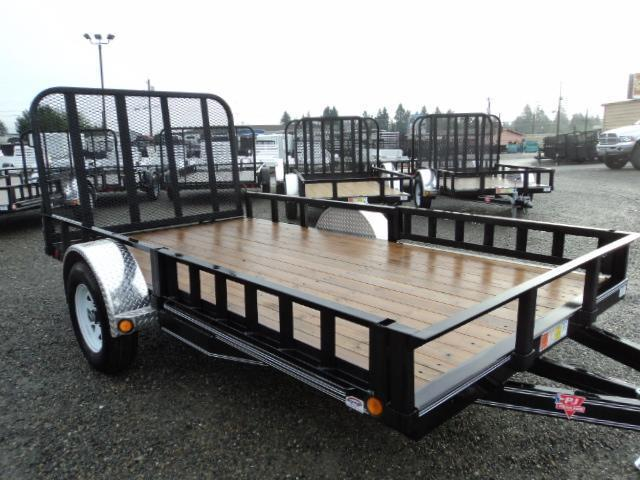 2018 PJ Trailers 7X14 Channel Utility Trailer