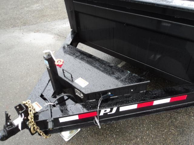 2018 PJ 7X12 14K Low Pro w/Tarp Kit  Dump Trailer