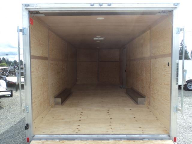 2017 Cargo Mate Aluminum E-series 8.5x24 10K Enclosed Cargo Trailer