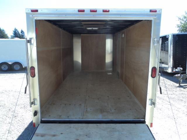 2018 Cargo Mate Challenger 7X16 7K w/Rear Ramp Door