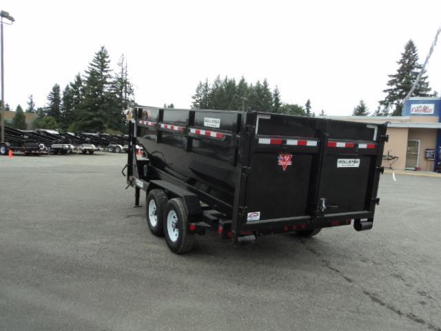2018 PJ Rollster Roll Off 7x14 14K Dump w/Bin