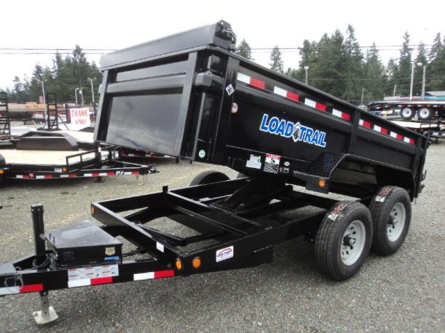 "2018 Load Trail 6X10 10K w/24"" Sides/Tarp Kit/Ramps  Dump Trailer"