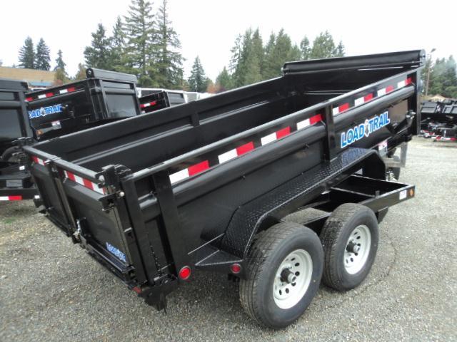 "2018 Load Trail 6X10 10K w/24"" Sides/Tarp Kit/Ramps  Dump Trailer"