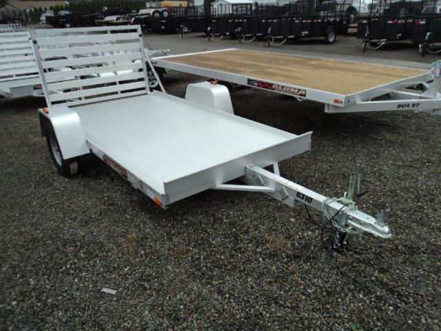 2017 Aluma 5X10 WITH DROP DOWN RAMP Utility Trailer