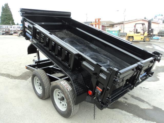 2017 Load Trail 5X10 7K w/Tarp Kit and Ramps Dump