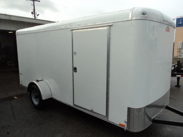 2018 Cargo Mate Blazer 6x14 W/REAR RAMP Cargo / Enclosed Trailer